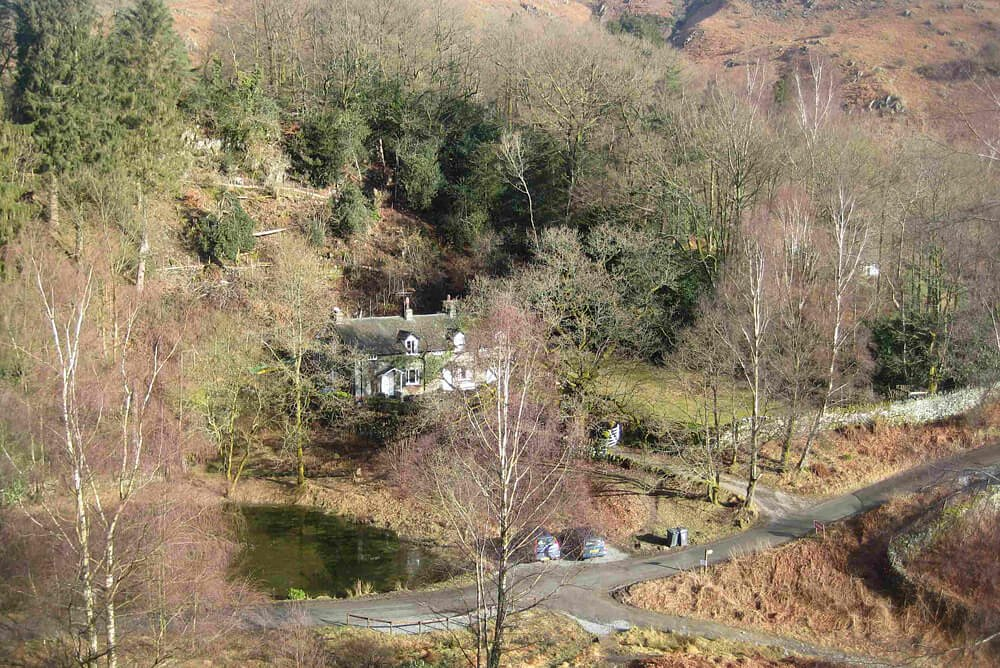 3 Tarn Cottages, Ariel View