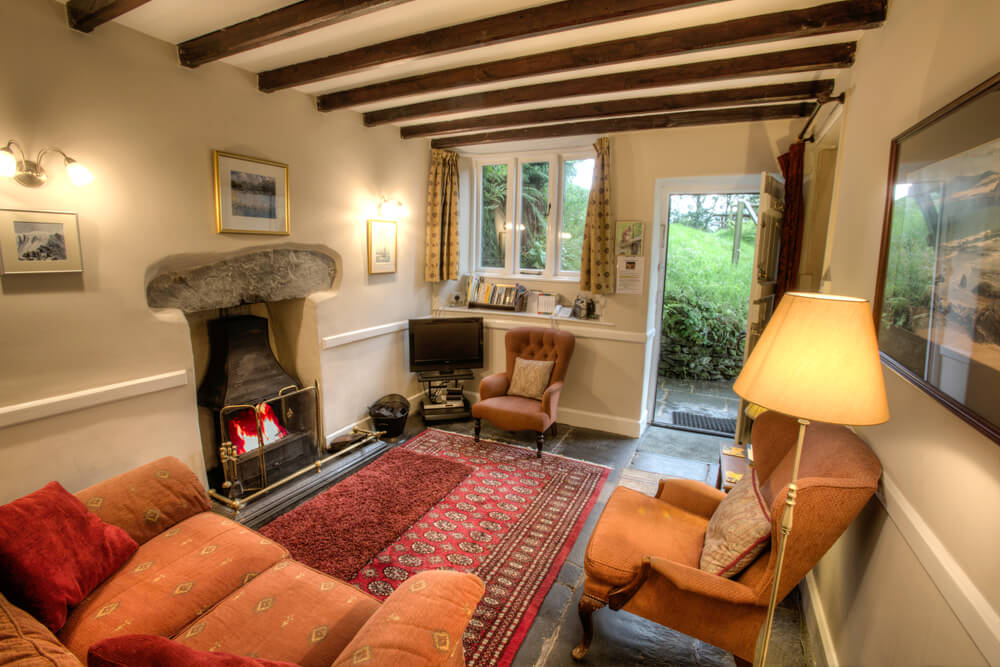 3 Tarn Cottages Lounge