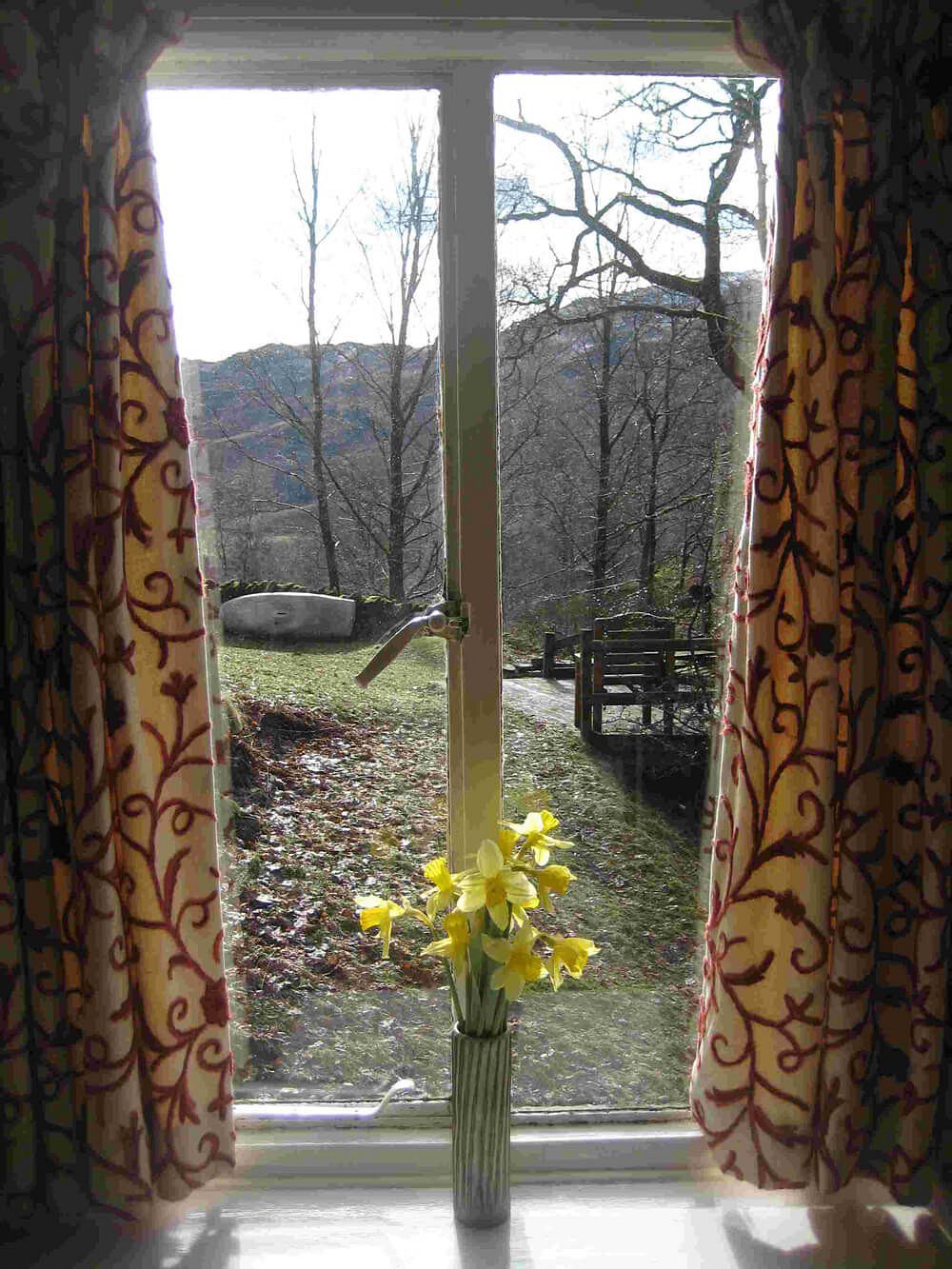 3 Tarn Cottages, Master Bedroom View